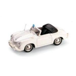 Porsche 356 Spider Open Police Svizzera 1952 White