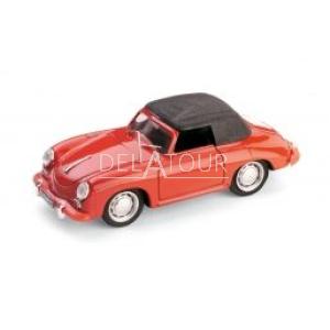 Porsche 356C Cabriolet 1952 Red