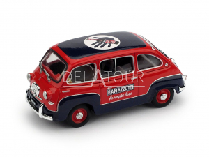 Fiat 600 Multipla Ramazzotti 1960 Red/Blue
