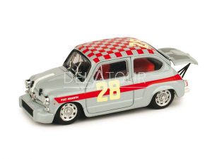 Fiat 600 Abarth 1000 #28 4H Di Monza 1966