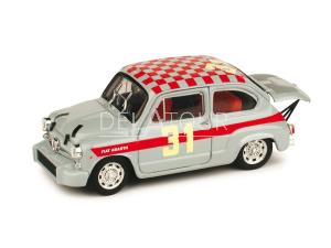 Fiat 600 Abarth #31 L. Cella 4H Monza 1966
