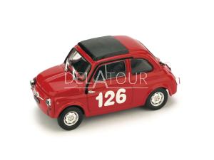 Fiat 500 Abarth #126 R. Pinto Vallelunga 1965