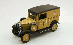 Fiat Balilla 1938 Beige and Black