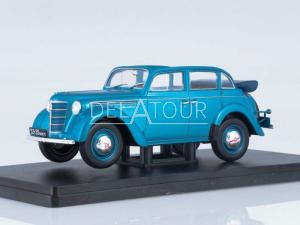 Moskvitch 400 420A Cabriolet 1949 Blue