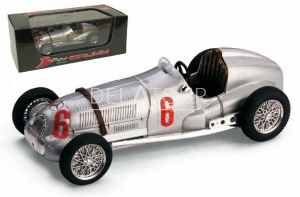 Mercedes W125 #6 H. Hermann Italian GP 1937