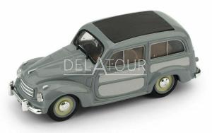 Fiat 500C Belvedere Chiusa 1951 2 Tone Grey