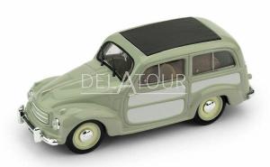 Fiat 500C Belvedere Chiusa 1951 Green / Grey