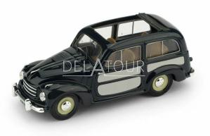 Fiat 500C Belvedere Aperta 1951 Blue / Grey