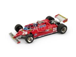 Ferrari 126CK #28 D. Pironi 1981 Monaco GP