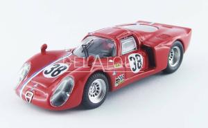 Alfa Romeo 33.2 Coupe #38 Test 24H LeMans 1968