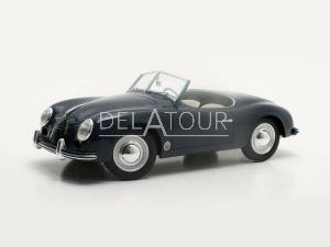 Porsche 356 America Roadster Spider 1952 Blue