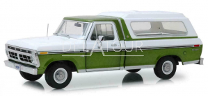 Ford F-100 Pick Up Closed 1976 Green/White