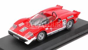 Fiat Abarth 2000S Spider #23 Silverstone 1969
