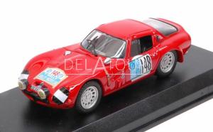 Alfa Romeo TZ2 #148 Rally Pergusa Hotel 1965