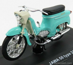 Jawa 50 Type 21 1967 Light Blue Ivory