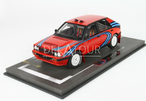 Lancia Delta HF #0 Base Rally 1989 Red