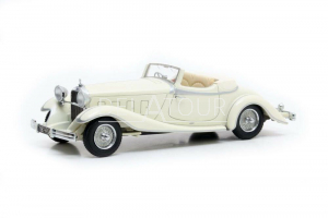 Delage D8S De Villars Roadster Closed 1933 White