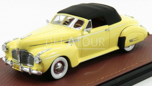 Buick Roadmaster Convertible 1941 Closed Yellow