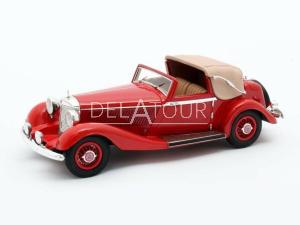 Mercedes-Benz 500K DHC Cabriolet Open 1935 Red