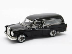 Mercedes-Benz 220SE W111 Polmann Funeral 1966 Blac