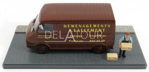 Citroen C35 Van Demenageur Brown