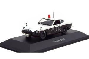 Nissan 240Z Fairlady Police 1970 White/Black