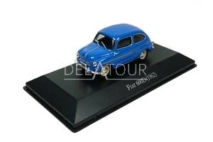 Fiat 600D 1962 Blue