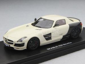 Mercedes-Benz SLS Coupe Brabus 700 2011 White