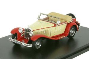 Mercedes-Benz 370S Spider Mannheim 1931 Red/Cream