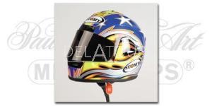 B. Bostrom Helmet MotoGP Laguna Seca 2001