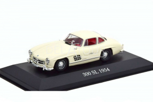 Mercedes-Benz 300SL Coupe Gullwing 1955 White
