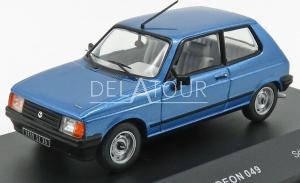 Talbot Samba 1982 Light Blue Metallic