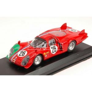 Alfa Romeo 33.2 #26 1000km Monza 1968
