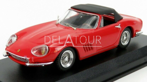 Ferrari 275 GTB/4 NART Spider 1967 Red/Black