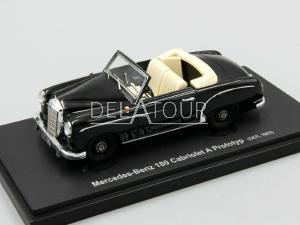 Mercedes-Benz 180 Cabriolet Prototype 1953 Black