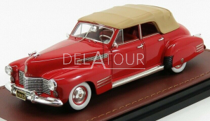 Cadillac Series 62 Sedan Convertible 1941 Red
