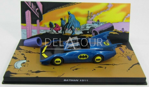 BatMobile BatMan 311 Blue / Matt Black