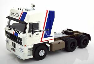 DAF 3600 Space Cab Traktor Truck 1986 White