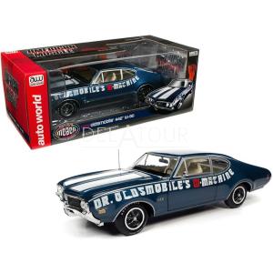 Oldsmobile Cutlass 442 Coupe 1969 Blue/White