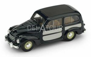 Fiat 500C Belvedere Chiusa 1951 Blue / Grey