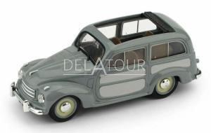 Fiat 500C Belvedere Aperta 1951 2-Tone Grey