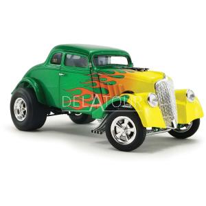 Ford Willys Gasser Custom 1933 Green/Yellow
