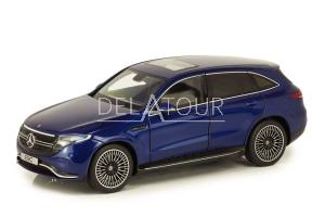 Mercedes-Benz EQC 400 4Matic 2019 Blue Metallic