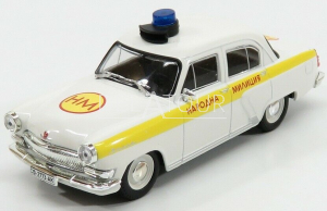 Gaz Volga M21 Police 1956 White/Yellow