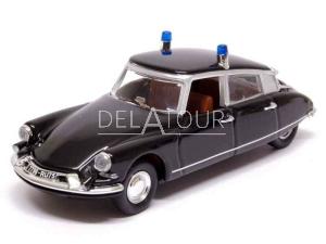 Citroen ID19 Prefecture de Paris Police 1968 Black