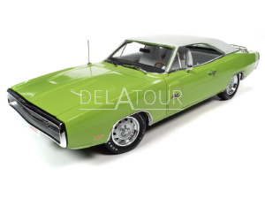 Dodge Charger R/T Coupe 1970 Green/Black