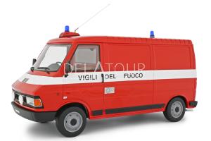 Fiat 242 Van Vigili Del Fuoco 1984 Fire Engine