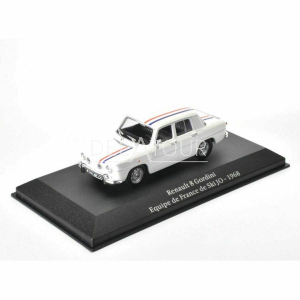 Renault R8 Gordini Equipe de France 1968 White