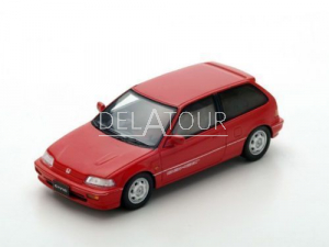 Honda Civic Si 1987 Red