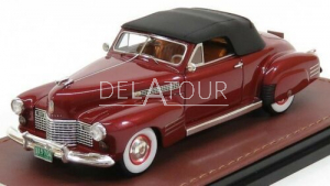 Cadillac Series 62 Convertible 1941 red Metallic